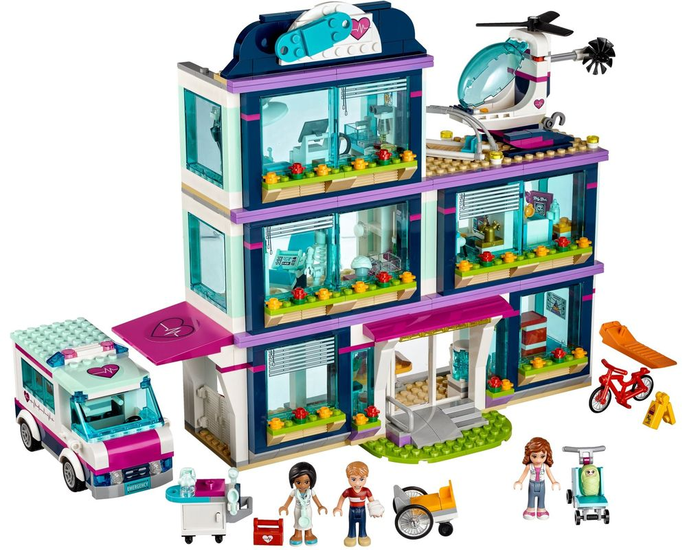 LEGO Set 41318-1 Heartlake Hospital (LEGO - Model)