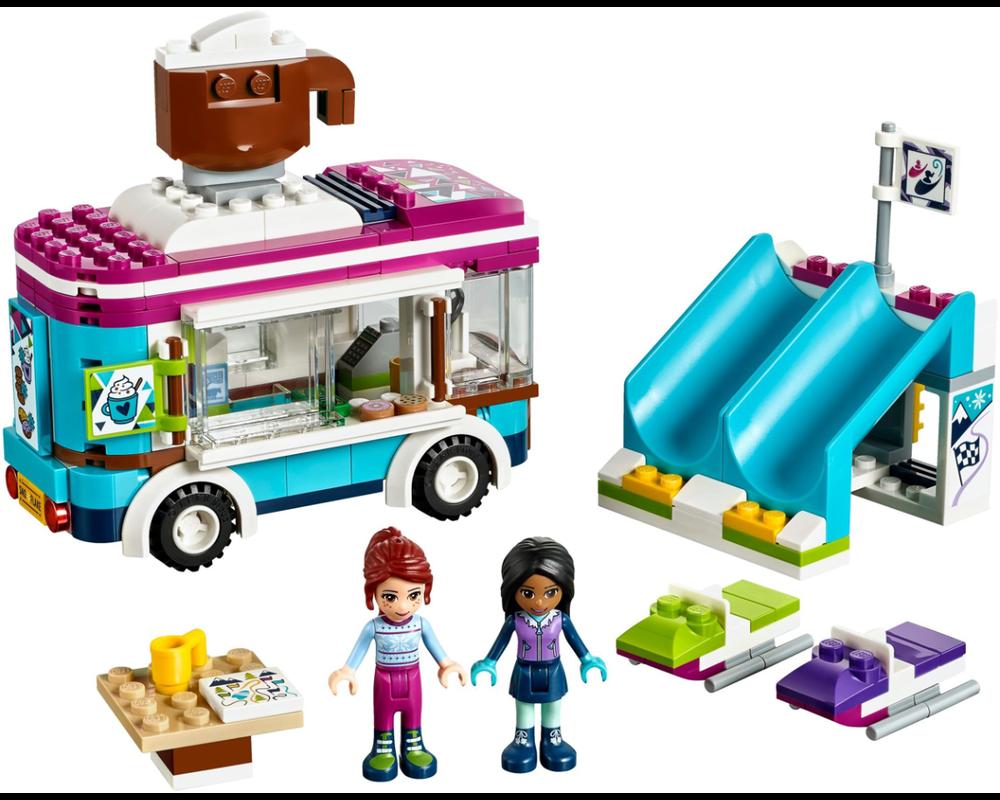 LEGO Set 41319-1 Snow Resort Hot Chocolate Van (Model - A-Model)