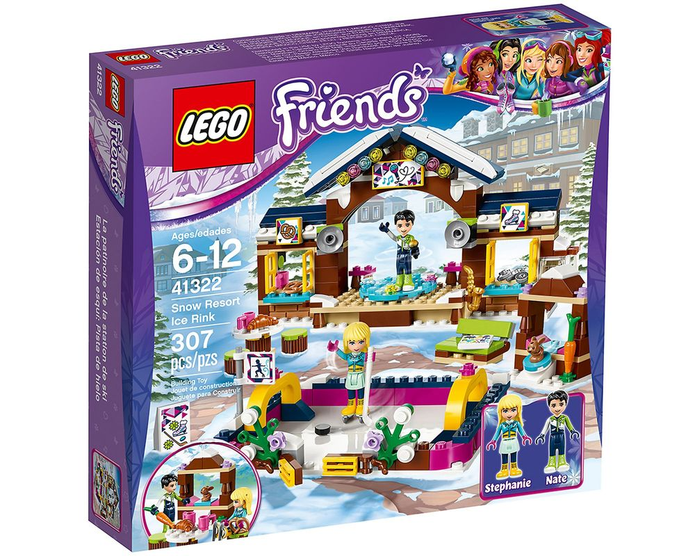 LEGO Set 41322-1 Snow Resort Ice Rink