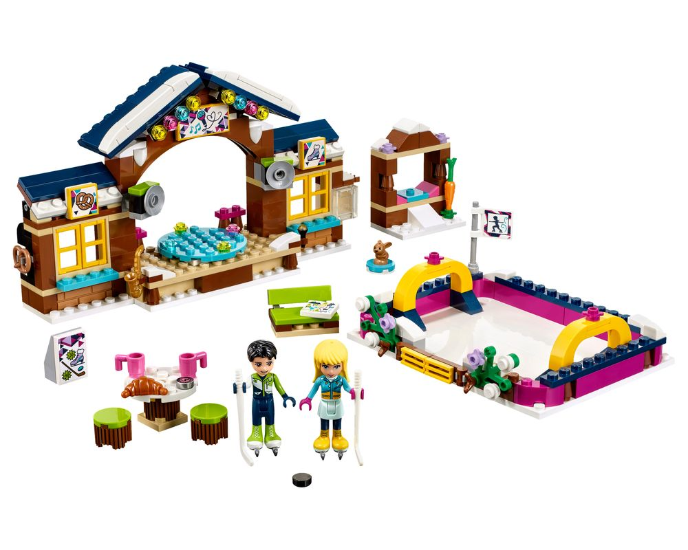 LEGO Set 41322-1 Snow Resort Ice Rink (LEGO - Model)