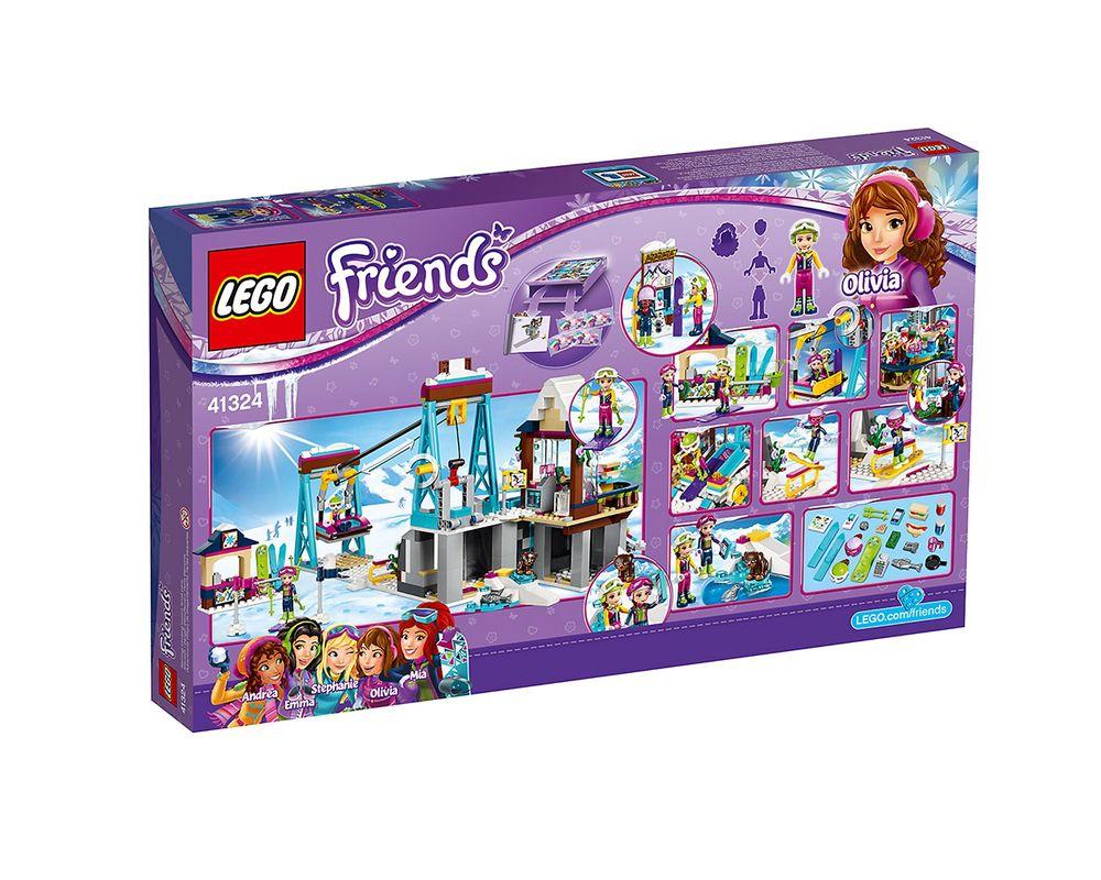LEGO Set 41324-1 Snow Resort Ski Lift