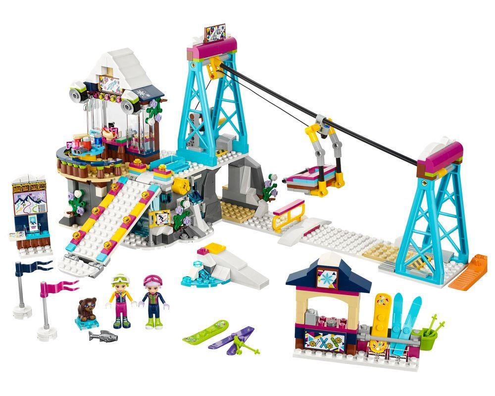 LEGO Set 41324-1 Snow Resort Ski Lift (LEGO - Model)
