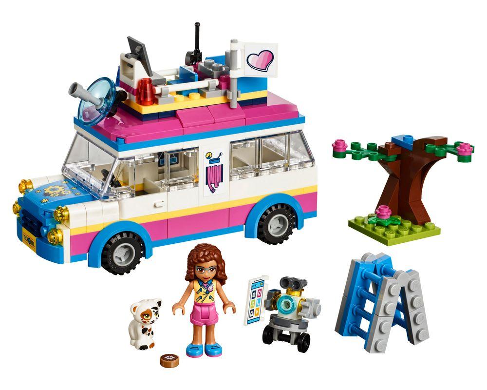 LEGO Set 41333-1 Olivia's Mission Vehicle (Model - A-Model)