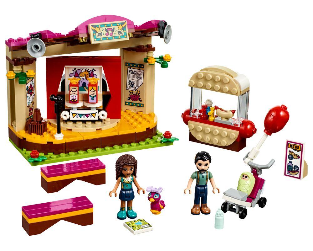 LEGO Set 41334-1 Andrea's Park Performance (Model - A-Model)