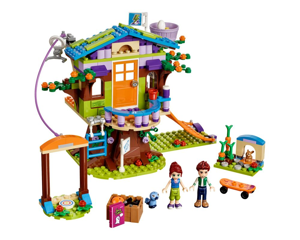 LEGO Set 41335-1 Mia's Tree House (Model - A-Model)