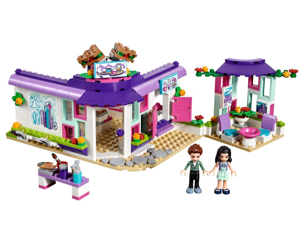 LEGO Set 41336-1 Emma's Art Café (Model - A-Model)
