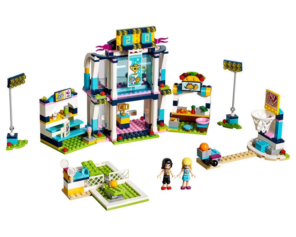 LEGO Set 41338-1 Stephanie's Sports Arena (Model - A-Model)