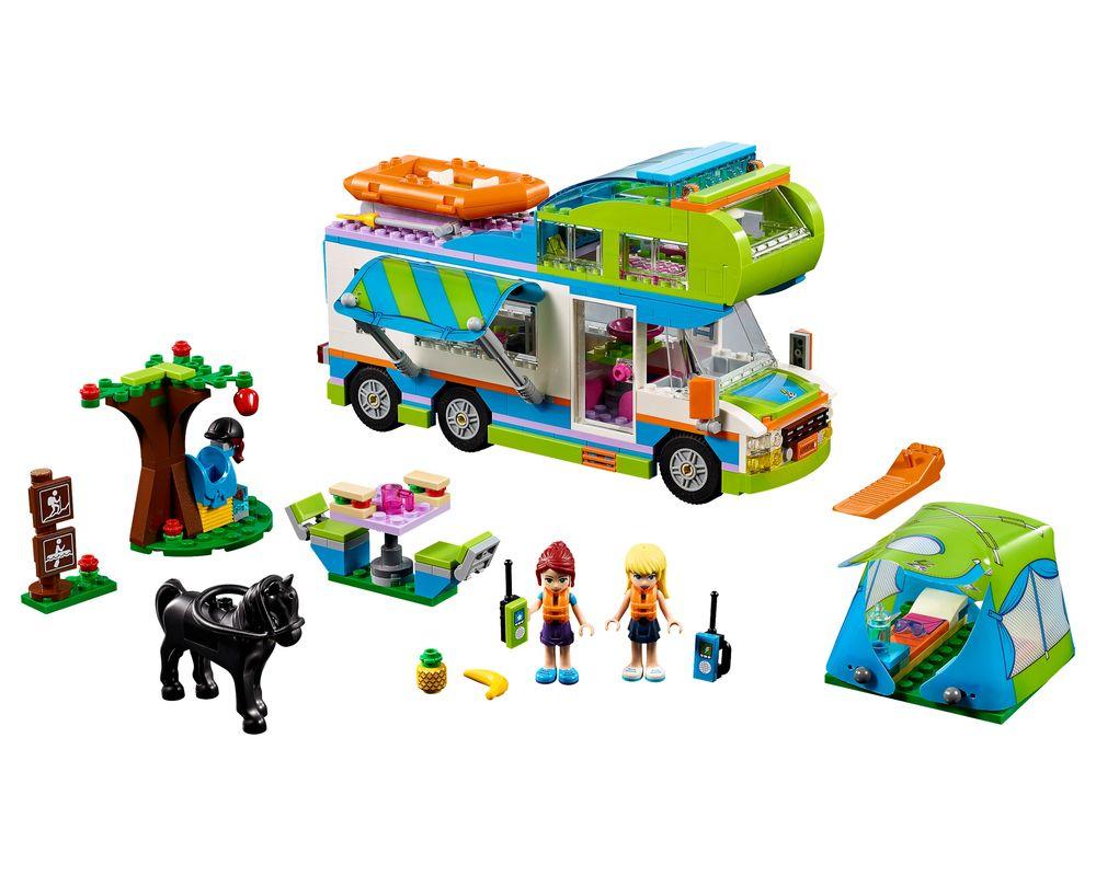 LEGO Set 41339-1 Mia's Camper Van (Model - A-Model)