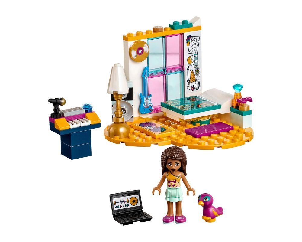 LEGO Set 41341-1 Andrea's Bedroom (LEGO - Model)