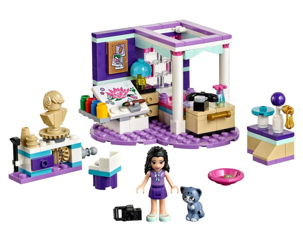 LEGO Set 41342-1 Emma's Deluxe Bedroom (Model - A-Model)