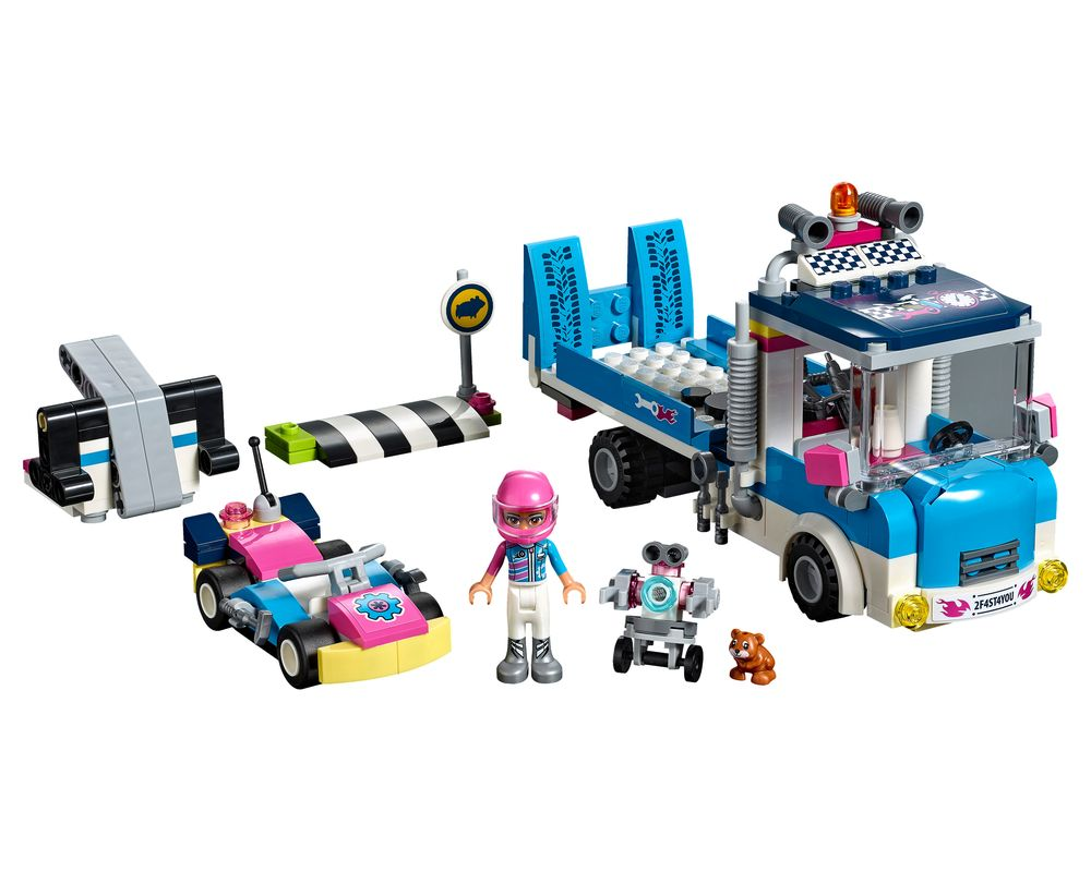 LEGO Set 41348-1 Service and Care Truck (Model - A-Model)
