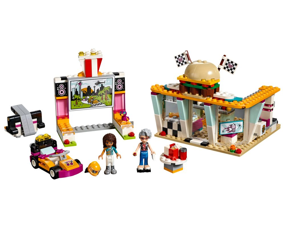 LEGO Set 41349-1 Drifting Diner (Model - A-Model)