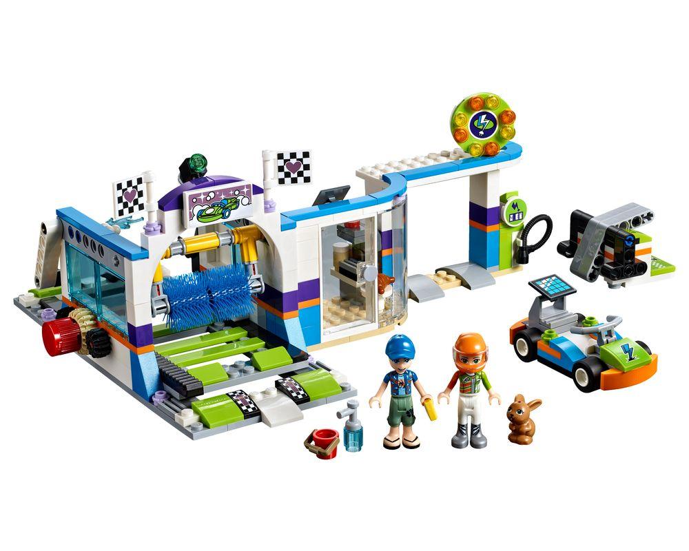 LEGO Set 41350-1 Spinning Brushes Car Wash (Model - A-Model)