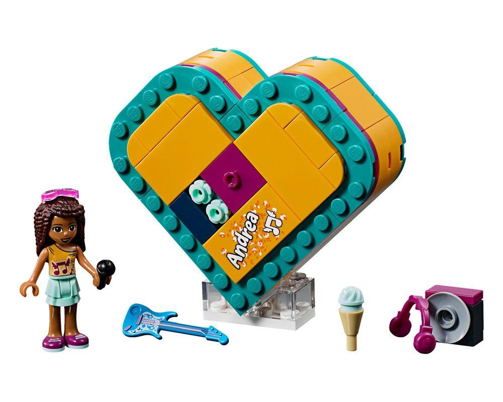 LEGO Set 41354-1 Andrea's Heart Box (LEGO - Model)