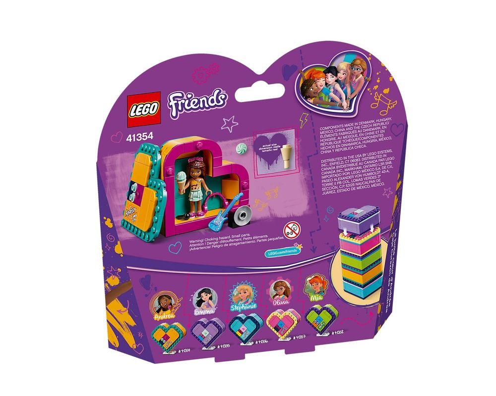 LEGO Set 41354-1 Andrea's Heart Box