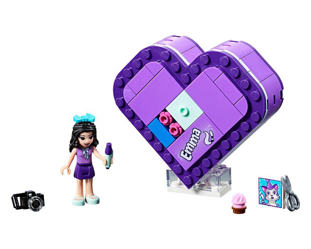 LEGO Set 41355-1 Emma's Heart Box (LEGO - Model)