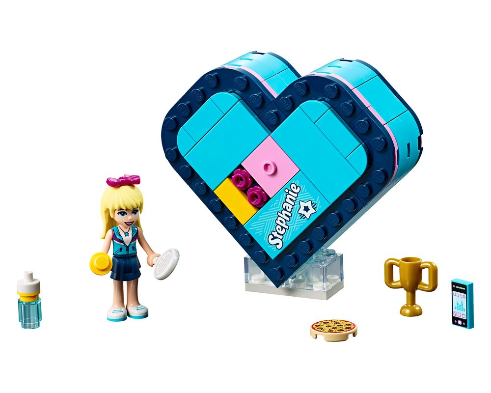 LEGO Set 41356-1 Stephanie's Heart Box (LEGO - Model)