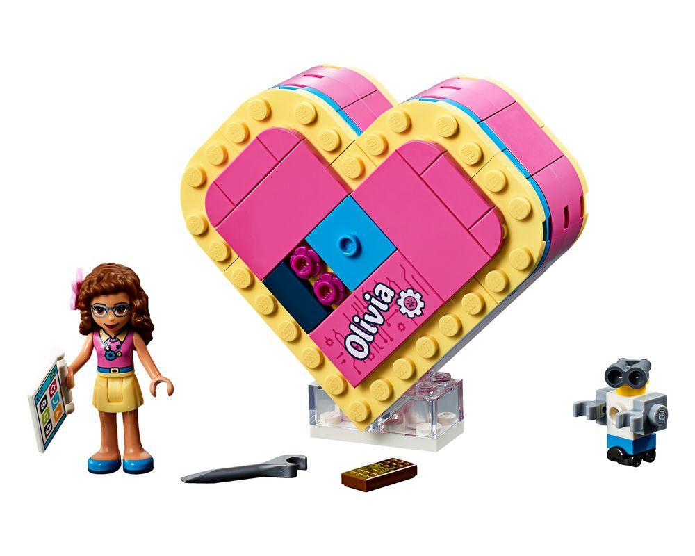 LEGO Set 41357-1 Olivia's Heart Box (Model - A-Model)