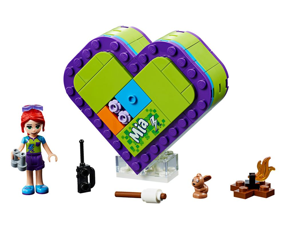 LEGO Set 41358-1 Mia's Heart Box (LEGO - Model)