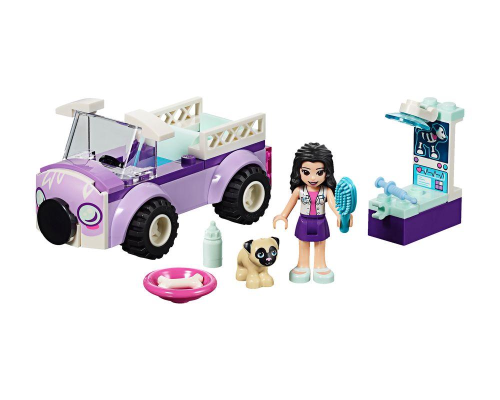 LEGO Set 41360-1 Emma's Mobile Vet Clinic (Model - A-Model)