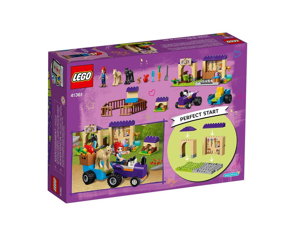 LEGO Set 41361-1 Mia's Foal Stable
