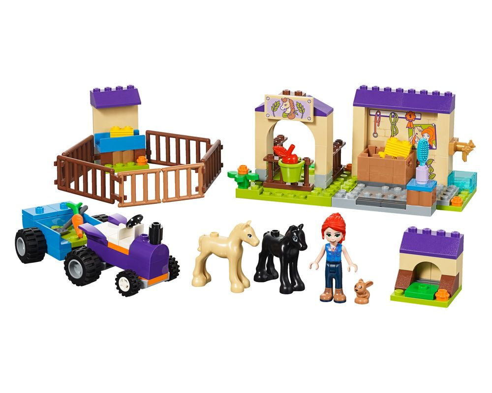 LEGO Set 41361-1 Mia's Foal Stable (Model - A-Model)