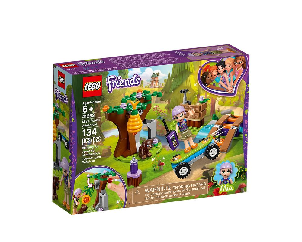 LEGO Set 41363-1 Mia's Forest Adventure