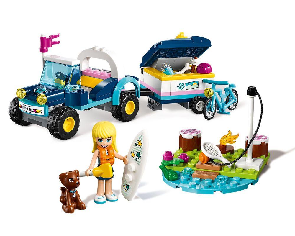 LEGO Set 41364-1 Stephanie's Buggy & Trailer