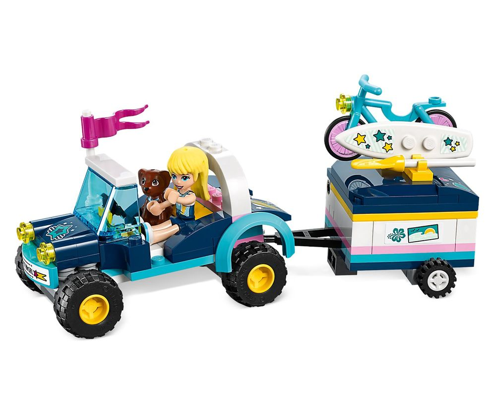 LEGO Set 41364-1 Stephanie's Buggy & Trailer