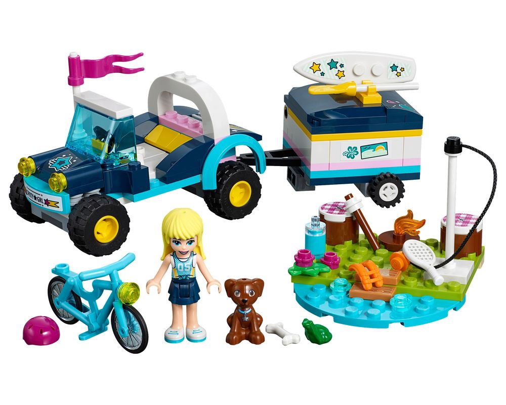 LEGO Set 41364-1 Stephanie's Buggy & Trailer (Model - A-Model)