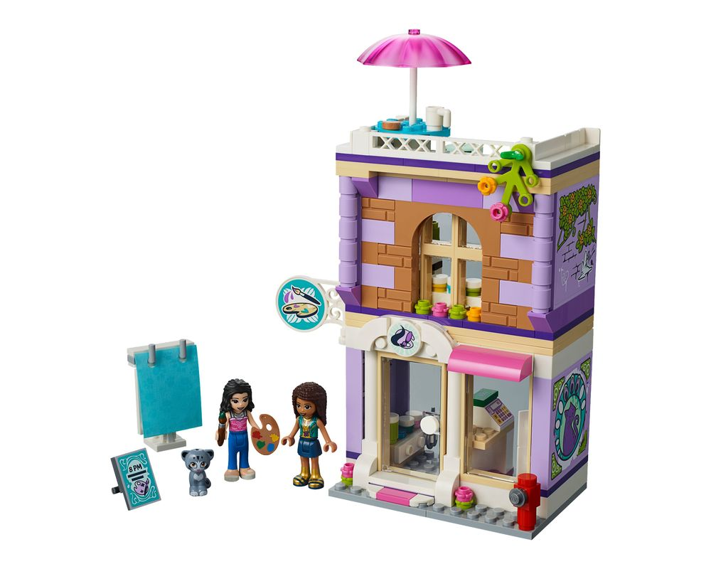 LEGO Set 41365-1 Emma's Art Studio (Model - A-Model)