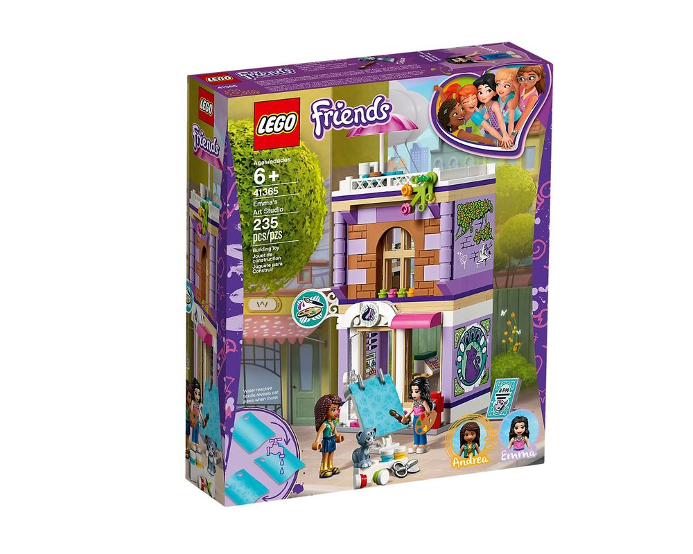 LEGO Set 41365-1 Emma's Art Studio