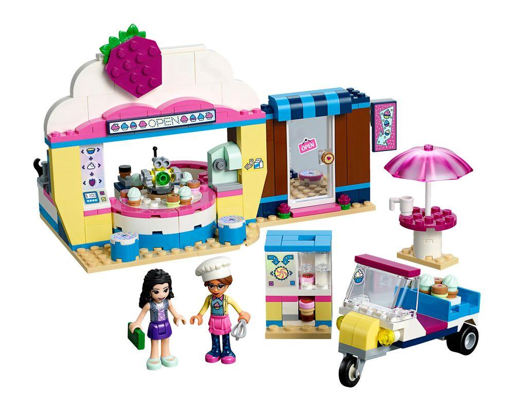 LEGO Set 41366-1 Olivia's Cupcake Cafe (Model - A-Model)