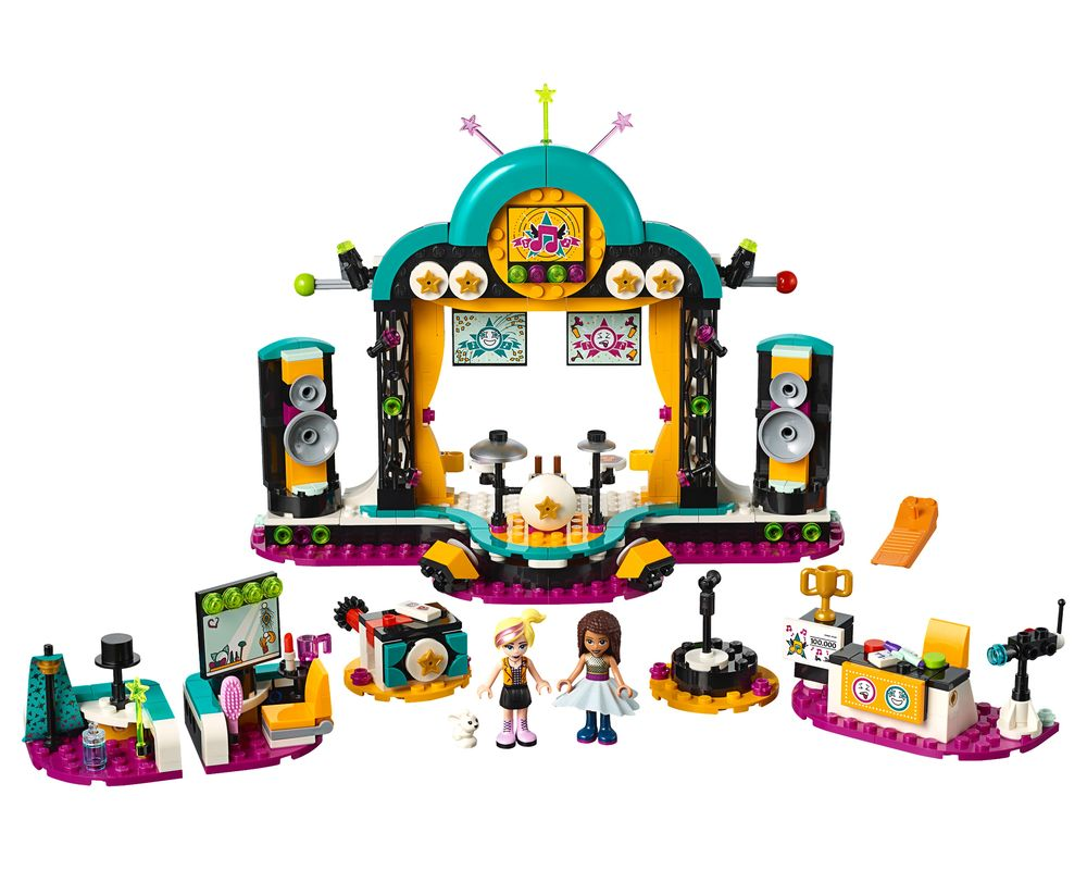 LEGO Set 41368-1 Andrea's Talent Show (Model - A-Model)