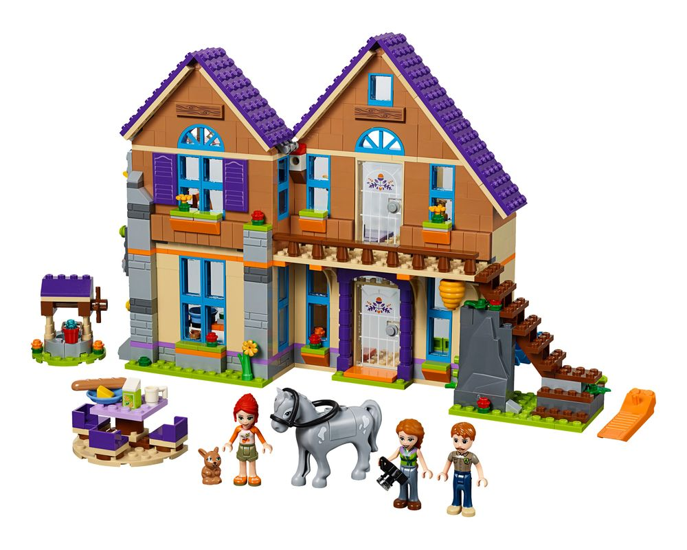 LEGO Set 41369-1 Mia's House (Model - A-Model)