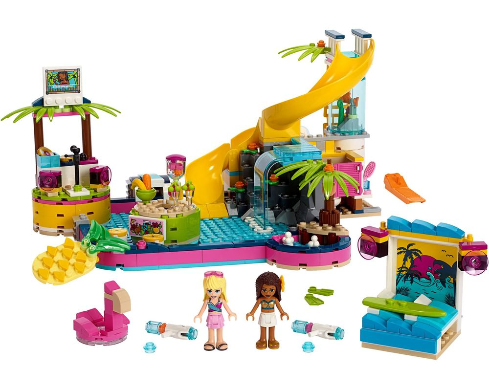LEGO Set 41374-1 Andrea's Pool Party (LEGO - Model)