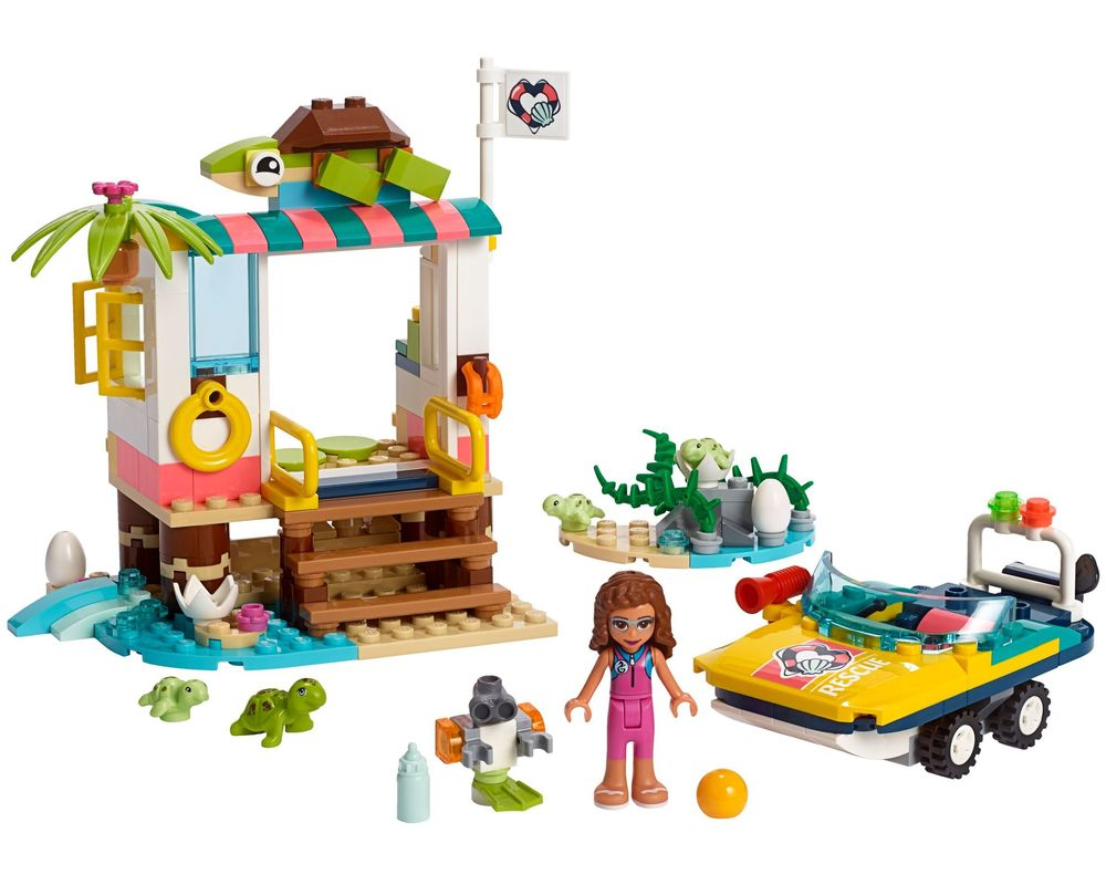 LEGO Set 41376-1 Turtles Rescue Mission (LEGO - Model)