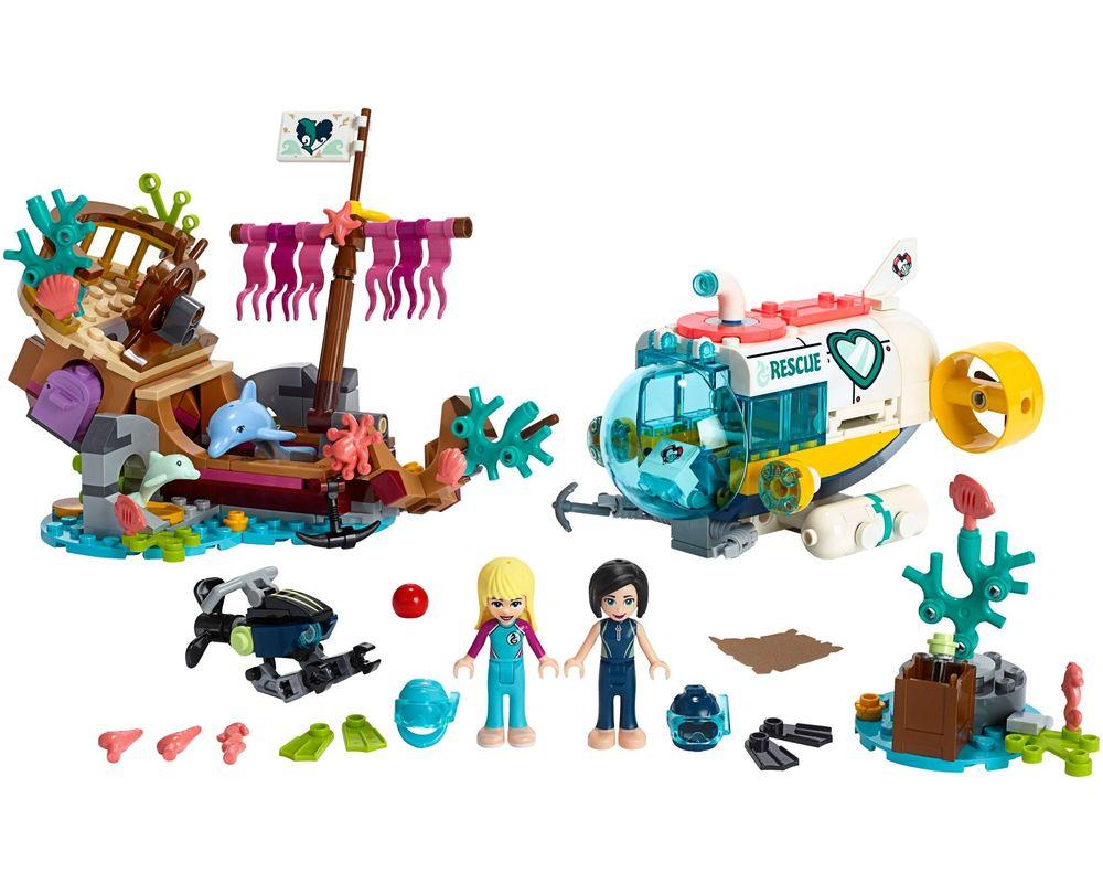 LEGO Set 41378-1 Dolphins Rescue Mission (LEGO - Model)