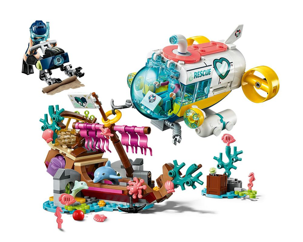 LEGO Set 41378-1 Dolphins Rescue Mission