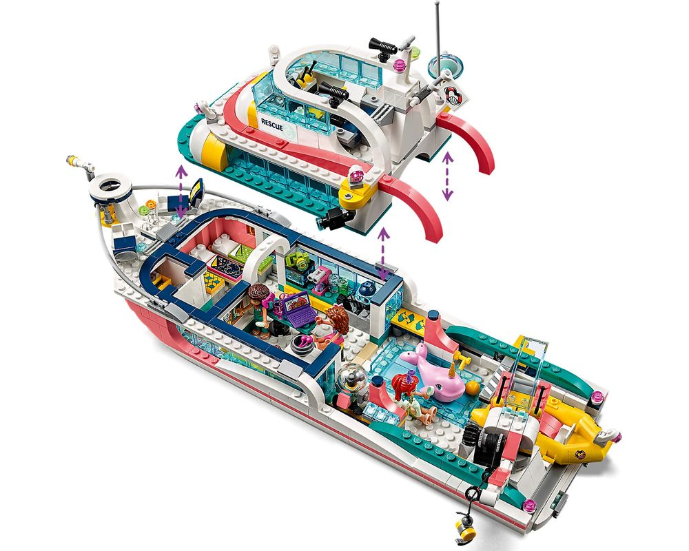 LEGO Set 41381-1 Rescue Mission Boat