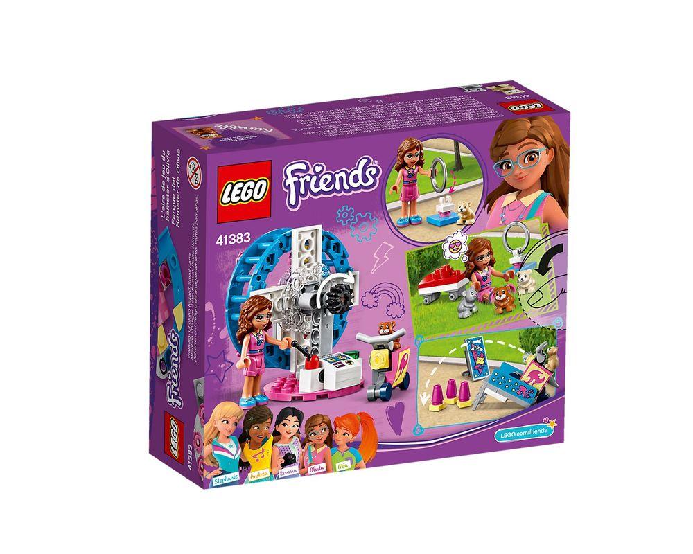 LEGO Set 41383-1 Olivia's Hamster Playground