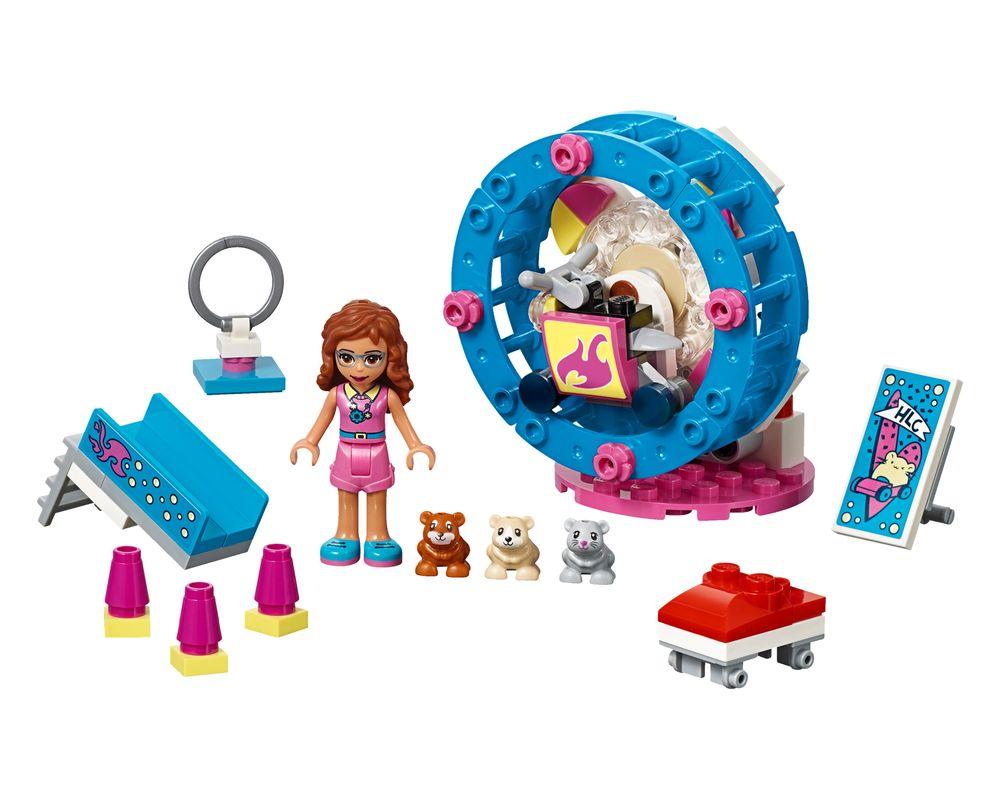 LEGO Set 41383-1 Olivia's Hamster Playground (Model - A-Model)