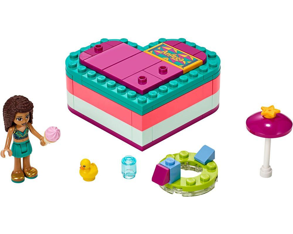 LEGO Set 41384-1 Andrea's Summer Heart Box (LEGO - Model)