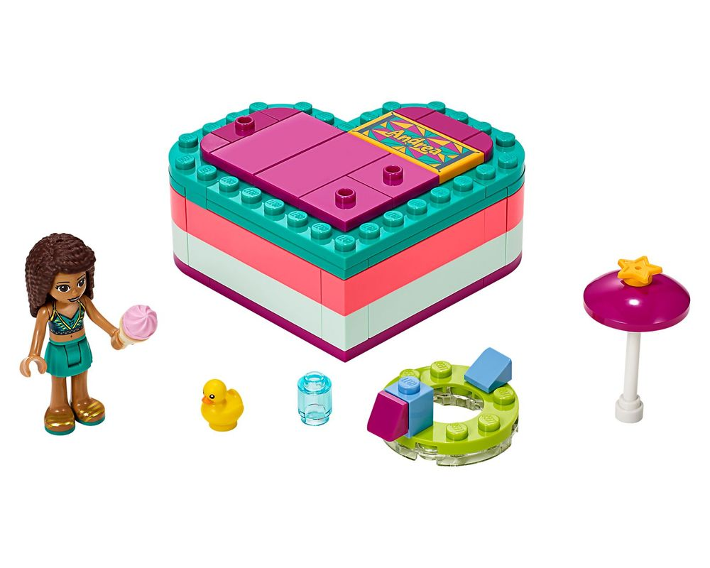 LEGO Set 41384-1 Andrea's Summer Heart Box