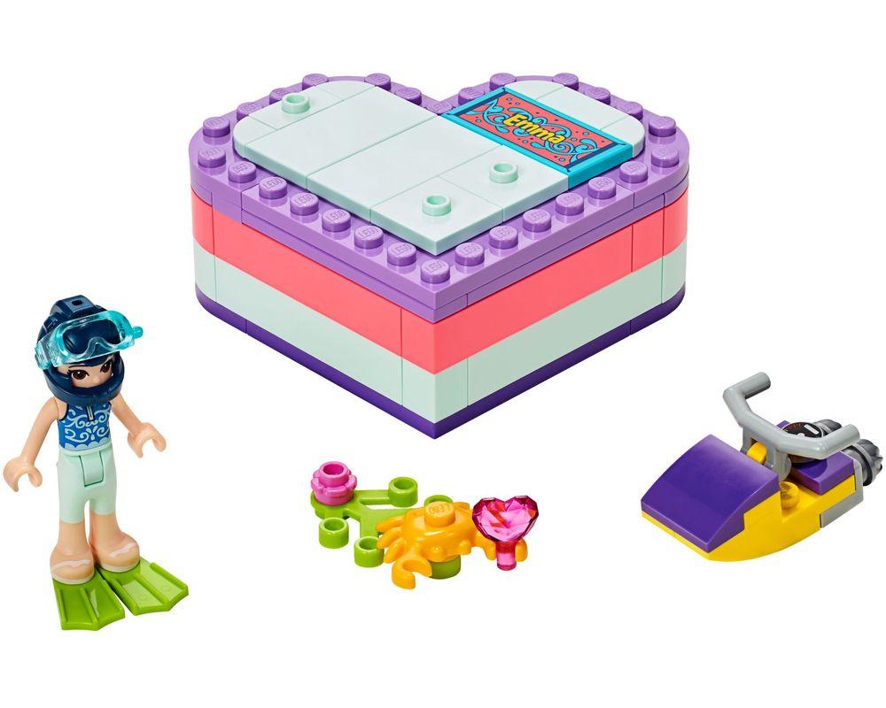 LEGO Set 41385-1 Emma's Summer Heart Box (Model - A-Model)