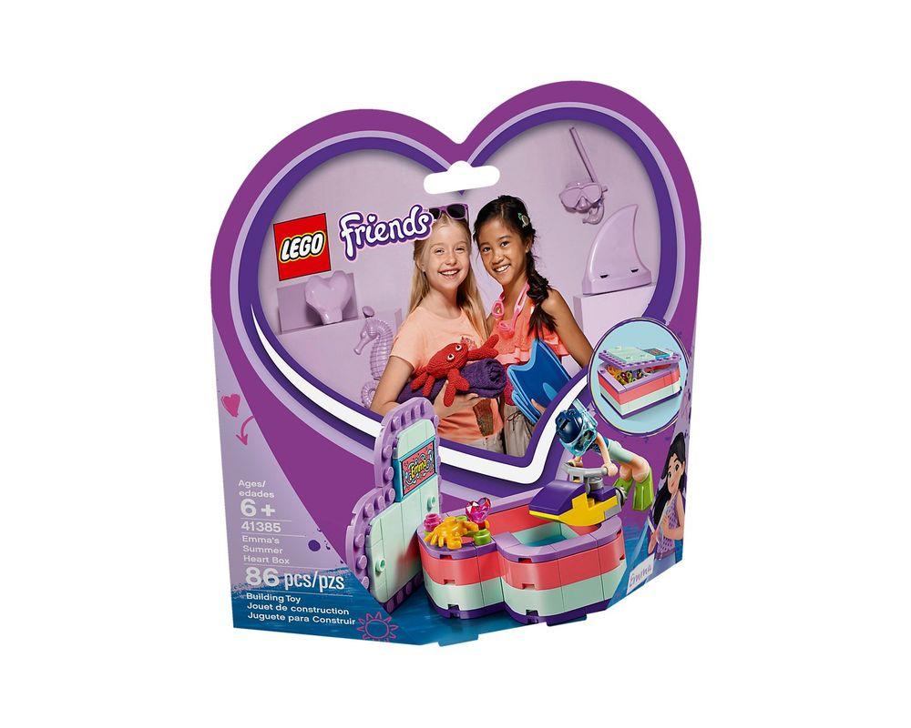 LEGO Set 41385-1 Emma's Summer Heart Box