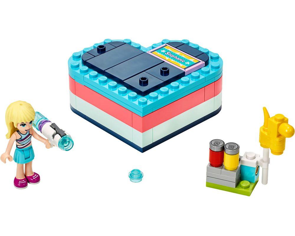 LEGO Set 41386-1 Stephanie's Summer Heart Box (Model - A-Model)