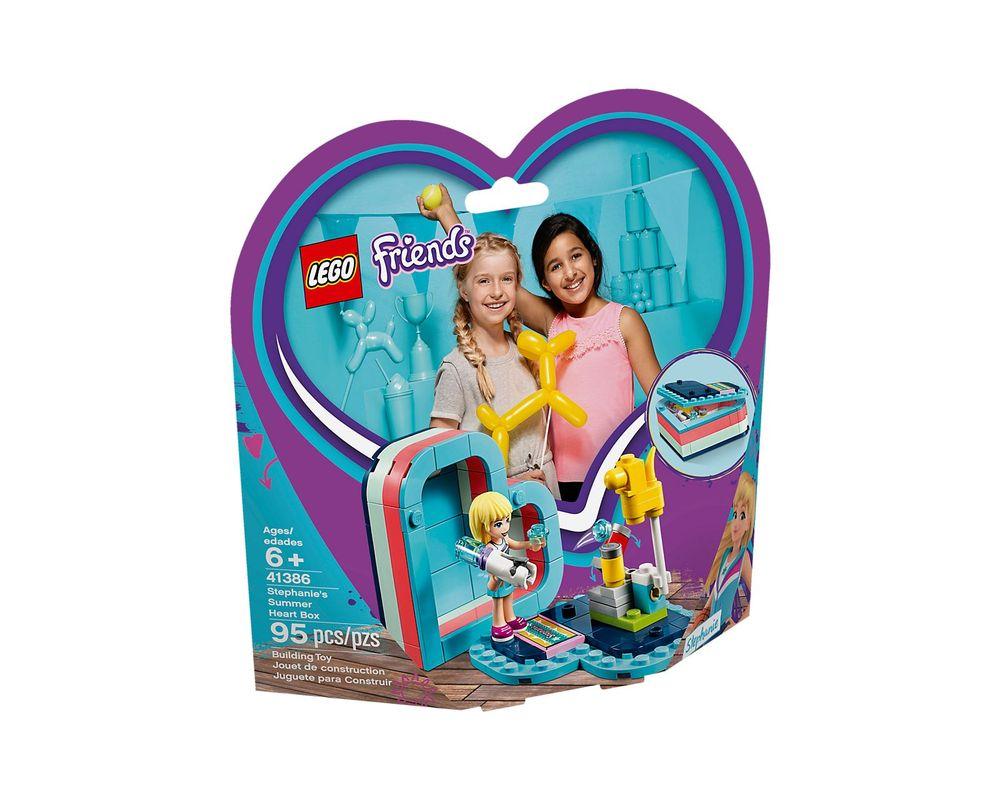 LEGO Set 41386-1 Stephanie's Summer Heart Box