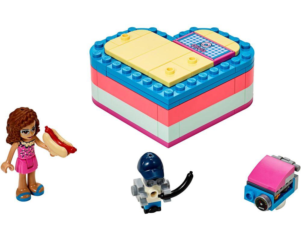 LEGO Set 41387-1 Olivia's Summer Heart Box (Model - A-Model)