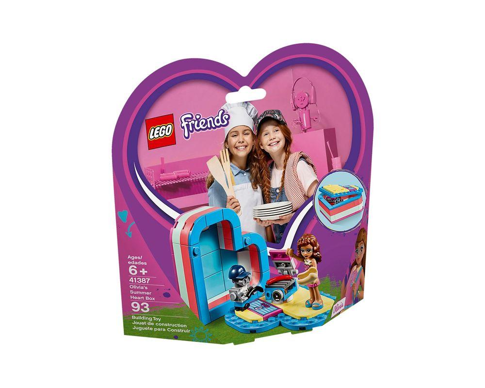 LEGO Set 41387-1 Olivia's Summer Heart Box